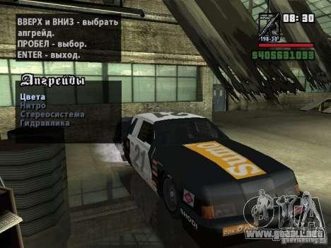 Transfender fix para GTA San Andreas segunda pantalla