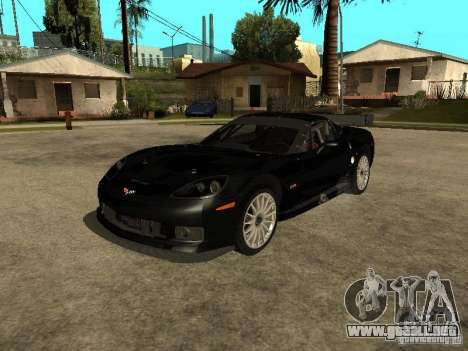 Chevrolet Corvette C6.R para GTA San Andreas