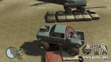 Bobcat megatruck 1.0 para GTA 4 vista hacia atrás