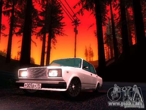 VAZ 2107 Lambo para GTA San Andreas