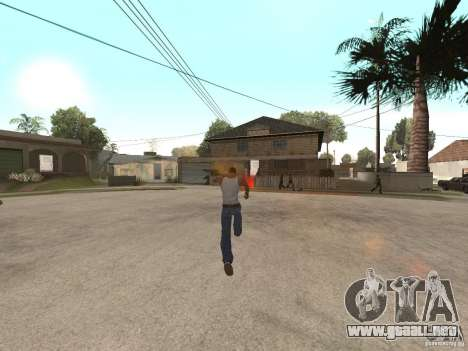 Awesome .IFP V3 para GTA San Andreas quinta pantalla
