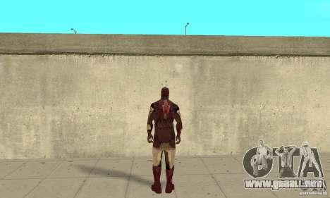 Ironman Mod para GTA San Andreas tercera pantalla