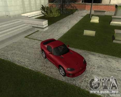 Dodge Viper GTS Coupe para GTA San Andreas left