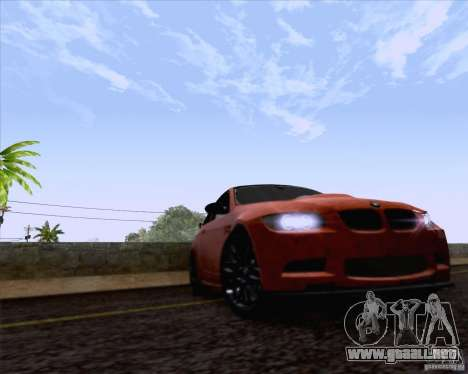 BMW M3 GT-S Fixed Edition para la visión correcta GTA San Andreas