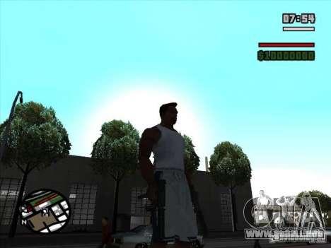 TMP para GTA San Andreas segunda pantalla