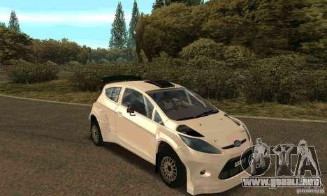 Ford Fiesta Rally para el motor de GTA San Andreas