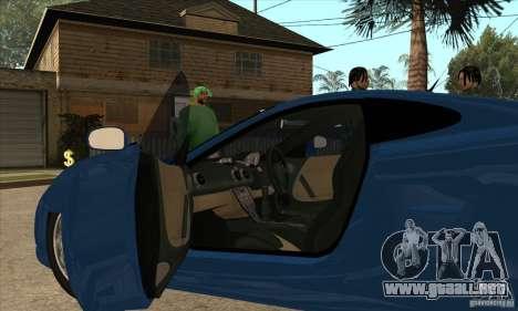 Ascari KZ1 para visión interna GTA San Andreas