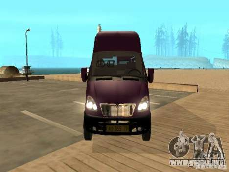 Taxi gacela 32213 para la visión correcta GTA San Andreas
