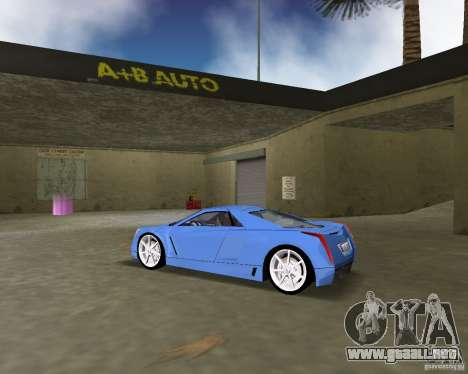 Cadillac Cien para GTA Vice City left