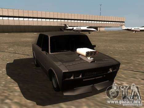 VAZ 2106 Drag Racing para visión interna GTA San Andreas