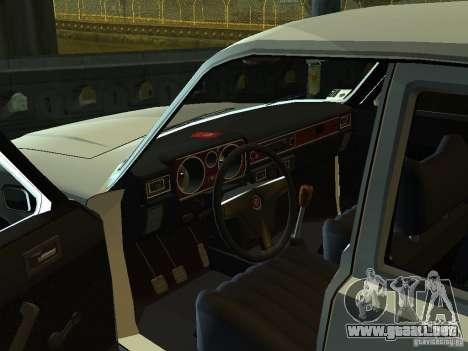 GAZ 3102 para GTA San Andreas vista hacia atrás