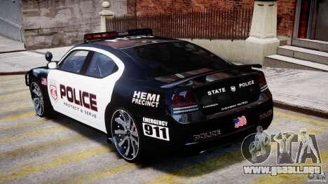 Dodge Charger NYPD Police v1.3 para GTA 4 visión correcta