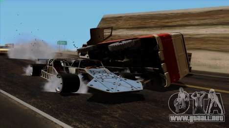 Tirón auto de Furious 6 para la vista superior GTA San Andreas