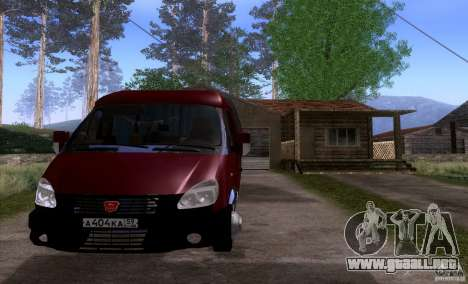 Negocio del GAS 33023 para GTA San Andreas left