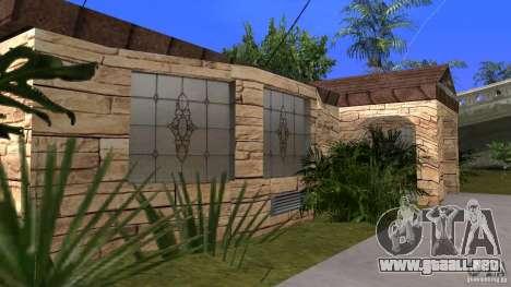 Nuevas texturas de casas y garajes para GTA San Andreas sucesivamente de pantalla