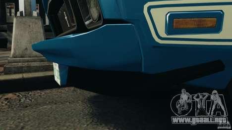 Ford Mustang Mach I 1973 para GTA 4 vista lateral