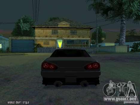 ELEGY BY CREDDY para GTA San Andreas vista posterior izquierda
