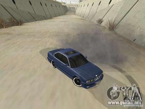 BMW M5 E34 V2.0 para GTA San Andreas left
