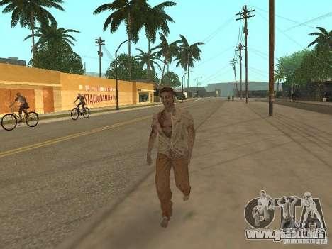 Zombie para GTA San Andreas sucesivamente de pantalla