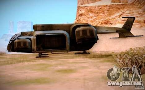 BTR-20 Yastreb para GTA San Andreas left