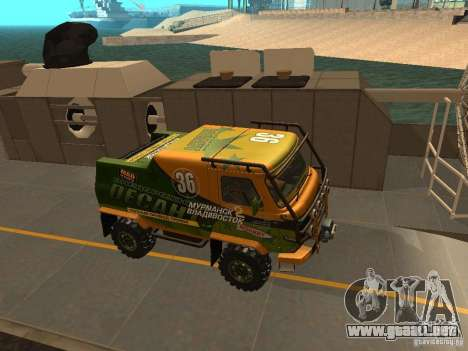 Expedición 2206 UAZ para visión interna GTA San Andreas