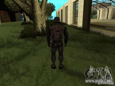 Miembro considera de S.T.A.L.K.E.R. para GTA San Andreas segunda pantalla