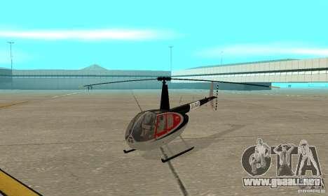 Robinson R44 Raven II NC 1.0 piel 2 para GTA San Andreas left