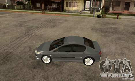 Peugeot 407 para GTA San Andreas left