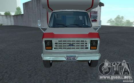 1986 Ford Econoline para GTA San Andreas left
