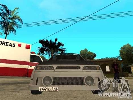VAZ 2110 WRC 2.0 para la visión correcta GTA San Andreas