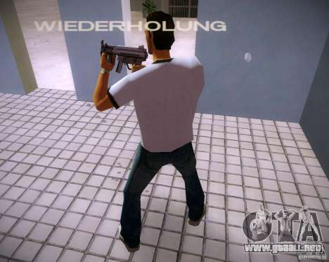 MP5K para GTA Vice City tercera pantalla