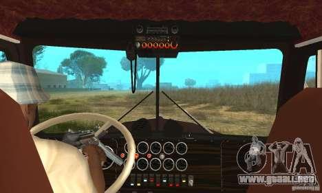 Kenworth Car Hauler para la visión correcta GTA San Andreas