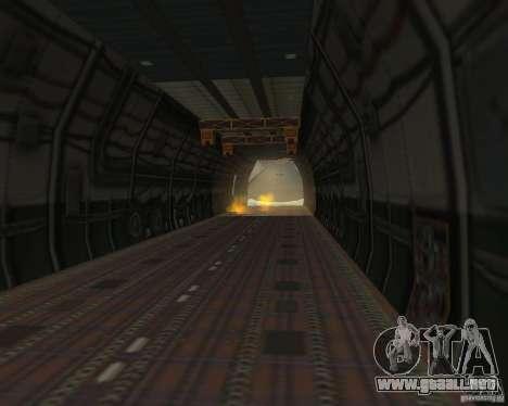El an-225 Mriya para la visión correcta GTA San Andreas