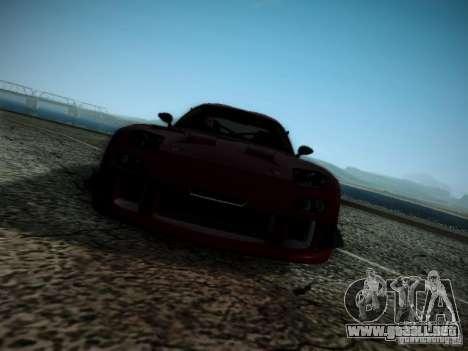 Mazda RX7 Drift para visión interna GTA San Andreas