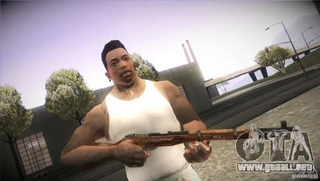 Weapon Pack by GVC Team para GTA San Andreas novena de pantalla