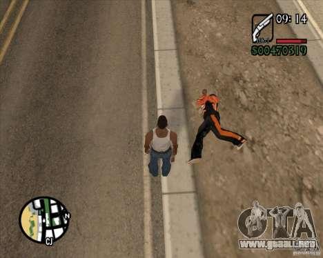 Endorphin Mod v.3 para GTA San Andreas séptima pantalla