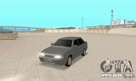 VAZ 2115 TUN para GTA San Andreas
