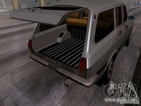 Volga GAZ 24-12 SL para visión interna GTA San Andreas