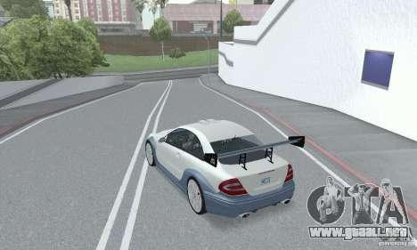 Mercedes-Benz CLK DTM AMG para visión interna GTA San Andreas