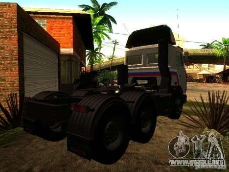 MAZ 642205 v1.0 para la visión correcta GTA San Andreas