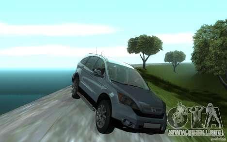 Honda CR-V para visión interna GTA San Andreas