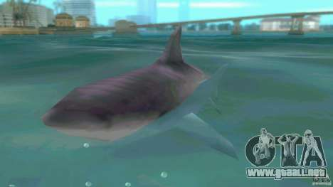 Shark Boat para GTA Vice City