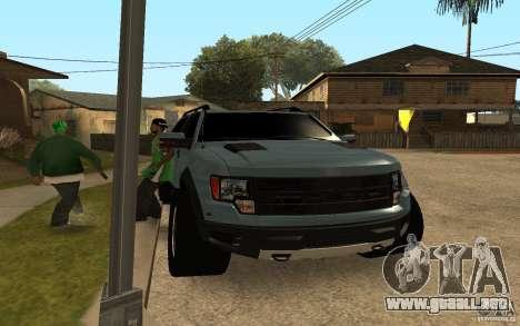 Ford Velociraptor para GTA San Andreas left