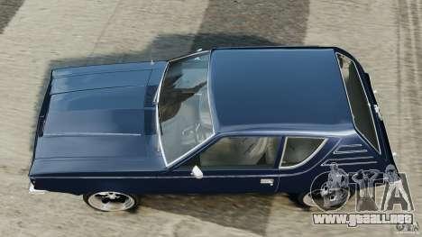 AMC Gremlin 1973 para GTA 4 visión correcta