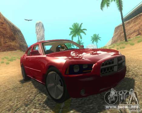 Dodge Charger 2011 para vista inferior GTA San Andreas