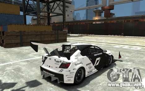 Scion tC AWD V1.0 para GTA 4 visión correcta
