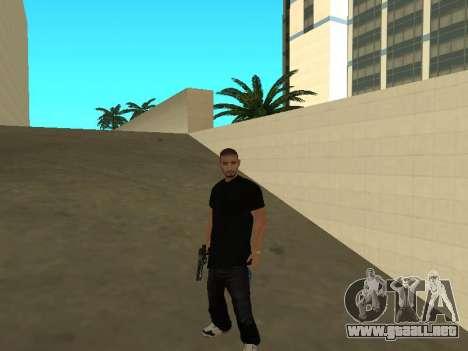 Black Rifa SkinPack para GTA San Andreas segunda pantalla