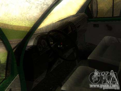Gacela 33021 para visión interna GTA San Andreas
