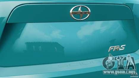 Scion FR-S para GTA 4 ruedas