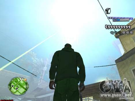 C-HUD v2.0 para GTA San Andreas segunda pantalla